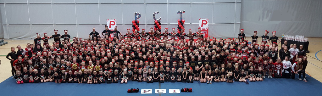 Tampereen Pyrintö Cheerleading Tampere