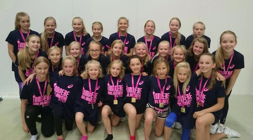 Tampere Pyrintö Sparks Cheerleading PCT