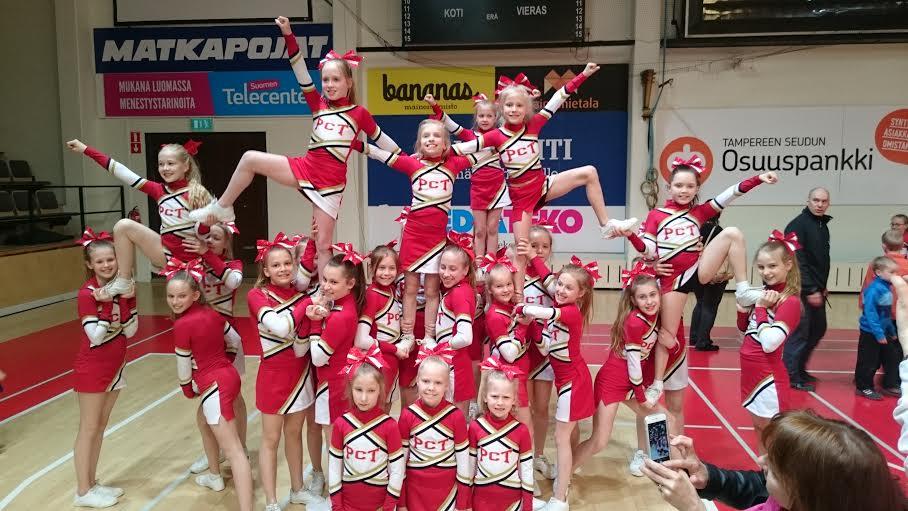 Tampere Pyrintö Sparks Cheerleading