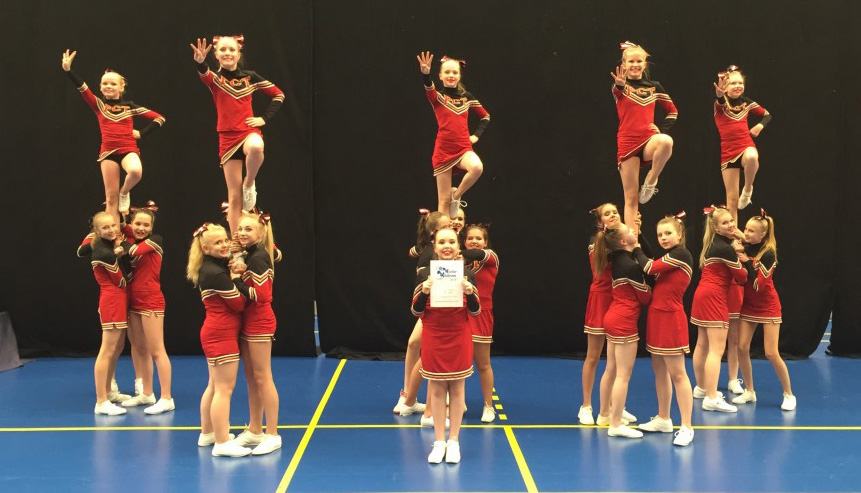Cheerleading PCT Tampere Pyrintö