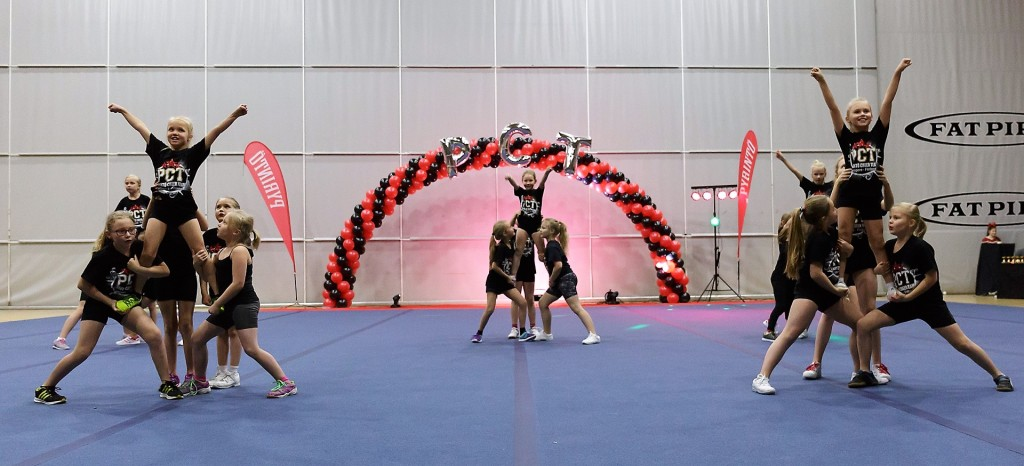 Tampere cheerleading pyrintö harrastus lapselle