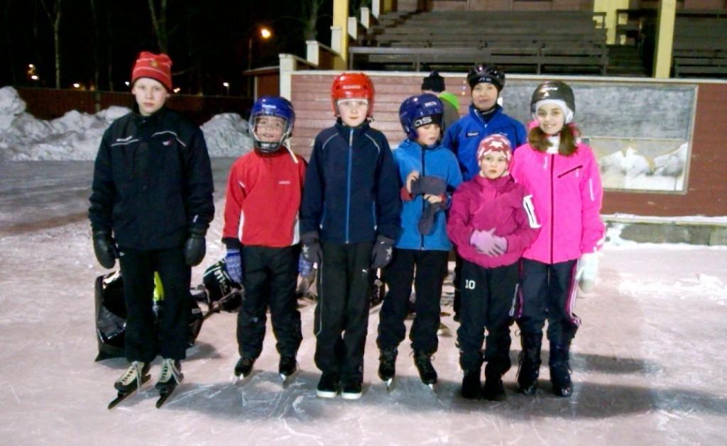 Talven viimeisen oppitunnin jälkeen 18.2.2015