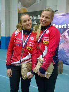 D18-sarjan menestyjät: Johanna Viilo hopeaa, Jutta Jussila 6:s.