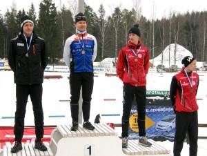 Pyry ja Vili Mustonen palkintojenjaossa.