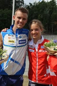Aleksi Niemi ja Simona Aebersold
