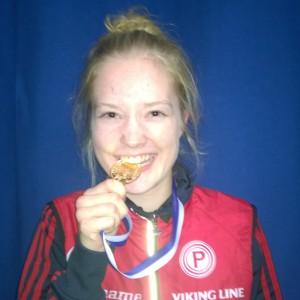 Anni Haanpää - kultaa D17