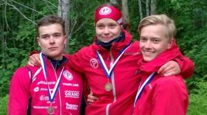 Teemu, Lotta ja Mikko Eerola. Kuva lainattu Teemun fb-sivulta.