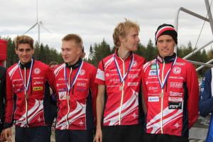Florian Howald, Elias Kuukka, Severi Kymäläinen, Aleksi Niemi