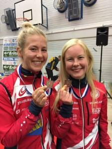 Saila Kinni ja Sonja Kyrölä