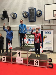 Sirkka-Liisa Lauronen D35 pronssia