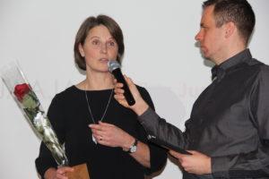 Tiina Jussila ja Mikko Eskola palkittiin vuoden parhaina Suunnistusseminaarissa