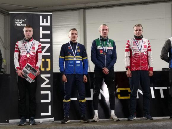 SM-yö Joensuun Pärnävaarassa: 3 kultaa, 1 pronssi, 10 plakettia, 84 pistettä