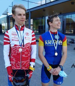 Antti Rissanen palkintojenjaossa