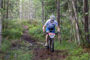 Silja Yli-Hietanen sprintissä
