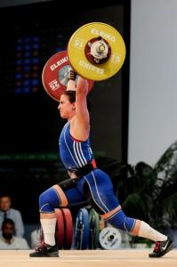 2014 EWC Tel Aviv, VUOHIJOKI Anni, työntö 106kg