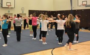 Pyrintö kuntoliikunta Cheerleading