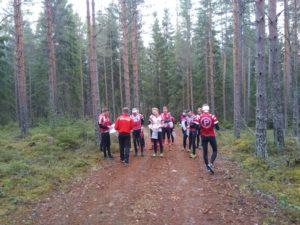 Pyrintö kohti Kangasala-Jukolaa
